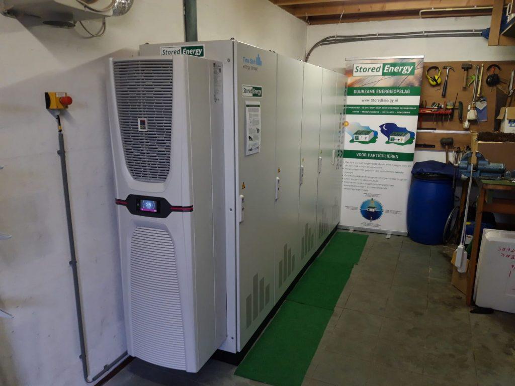 StoredEnergy energieopslag